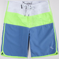Lost Short Snorter Mens Boardshorts Neon  In Sizes