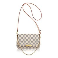 Louis Vuitton Favorite PM Damier Azur Canvas N41277