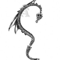 The Dragon's Lure (Stud) Alchemy Gothic Earring:Amazon:Jewelry