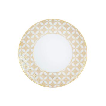 Gold Exotic Bread & Butter Plate