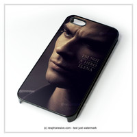 Damon Vampires Diaries iPhone 4 4S 5 5S 5C 6 6 Plus , iPod 4 5 , Samsung Galaxy S3 S4 S5 Note 3 Note 4 , HTC One X M7 M8 Case