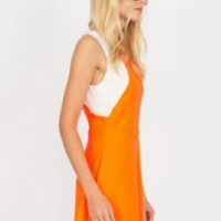 Orange Dream Machine Dress