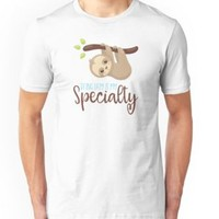 'LAZYBONES SLOTH' T-Shirt by Super3