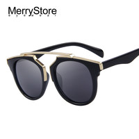 MERRYSTORE Fashion Women Cat Eye Sunglasses Brand Designer Classic Retro Glasses UV400