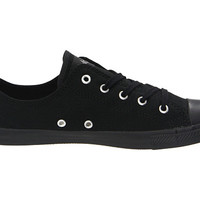Converse Chuck Taylor® All Star® Dainty Ox Black Mono - Zappos.com Free Shipping BOTH Ways