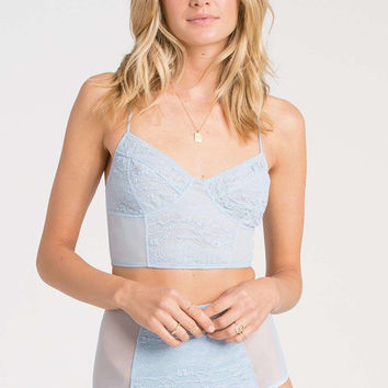 Billabong - Lacy Daze Camisole | Blue Cloud