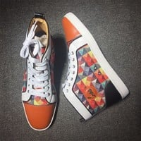 Christian Louboutin CL Style #2117 Sneakers Fashion Shoes Best Deal Online