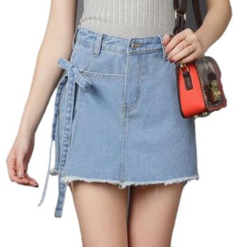 Summer Daze Denim Mini