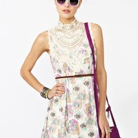 Flower Trip Dress in  Clothes at Nasty Gal
