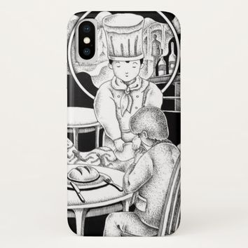Memorable restaurant iPhone x case