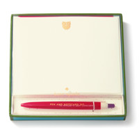 Kate Spade Pen and Notecard Set - to whom it may concern