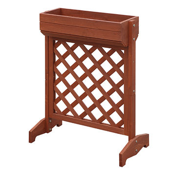 Convenience Concepts G10095 American Heritage Red Cedar Garden Raised Planter Box