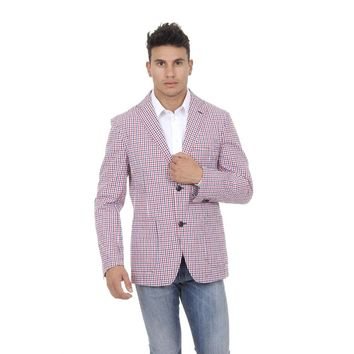 Checked L Fred Perry Mens Jacket 30712014 0032