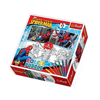 Trefl 2-Colour Puzzles Spiderman