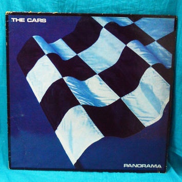 Vintage 80s THE CARS Panorama Elektra Records Vinyl LP
