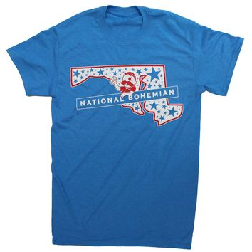 National Bohemian Maryland State Stars (Blue) / Shirt