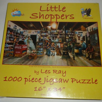 Little Shoppers Grocery Store 1000 Piece Jigsaw Puzzle