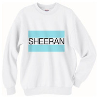 PREORDER Sheeran Toms Logo Ed Sheeran Crew Neck Pull Over Sweater