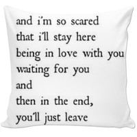 Quote Pillow #8