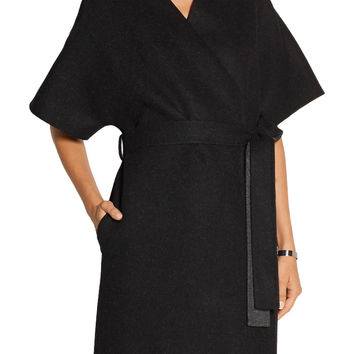 Adnon wool-blend wrap coat | The Row | US | THE OUTNET