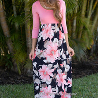 What You've Been Missing Floral Maxi Curvy
