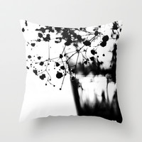 baby's breath Throw Pillow by ingz