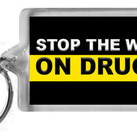 Stop the War on Drugs Keychain