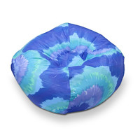 Michael Anthony Furniture Blue/Purple Tye Dye Bean Bag Chair