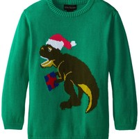 Alex Stevens Big Boys' Ugly Christmas Sweater Santasaurus Rex