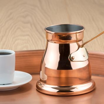 """Ibrik"" Copper Turkish Coffee Pot by Old Dutch International"