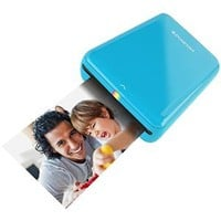 Polaroid ZIP Mobile Printer w/ZINK Zero Ink Printing Technology - Compatible w/iOS & Android Devices - Blue