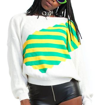 Vintage 80's Secondary Instinct Sweater - One Size Fits Many