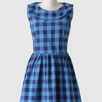 Darby Plaid Dress By Kling