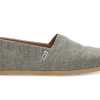 Leaf Green Slub Chambray Men's Classics