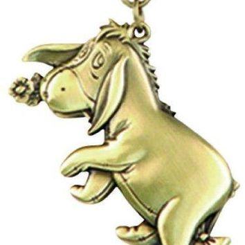Disney Eeyore Brass Key Ring