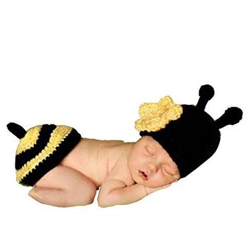 A Baby Photo Prop Outfit Clothes Knit Crochet Photopraphy Dress Handmade