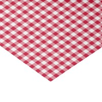 "Baseball Coord. Gingham Tissue Wrap-Red-White 10"" X 15"" Tissue Paper"