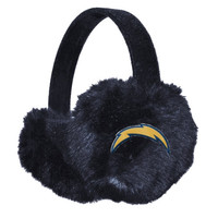 San Diego Chargers Women's Faux Fur Ear Muffs