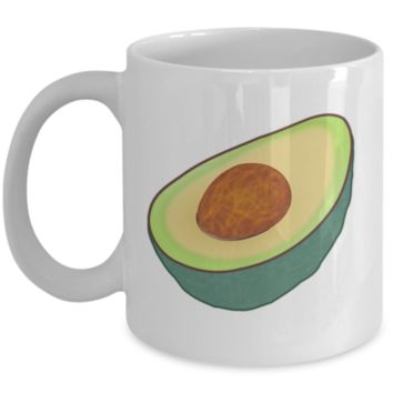 I Love Avocado Mug Fresh Gift Idea Coffee Cup