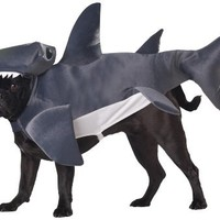 Animal Planet PET20107 Hammerhead Shark Dog Costume, Small
