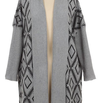 Tribal Knit Sweater