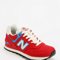 New Balance 574 Rugby Red Running Sneaker - Urban Outfitters