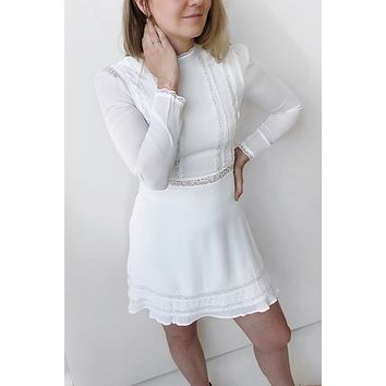 Esme Dress - white