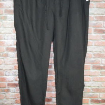 Velvet Heart Black Pants New Size XL Casual 100% Tencel NWT