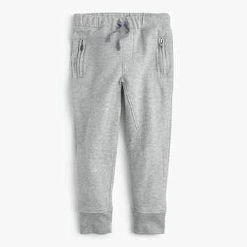 Boys' zip-pocket sweatpant in slim-fit