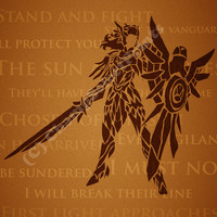 Leona League of Legends Print by ChampSelectPrints on Etsy