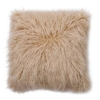 "Faux Fur Pillow (18"") - Oatmeal - Threshold™ : Target"