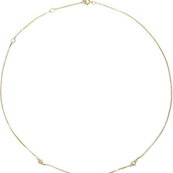 Loren Stewart - Fairy Floss 9-karat gold diamond choker