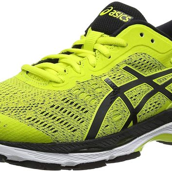 ASICS Men's Gel-Kayano 24, Sulphur Spring/Black/White