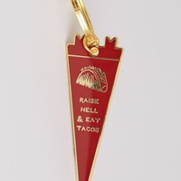 Raise Hell & Eat Tacos Keychain
